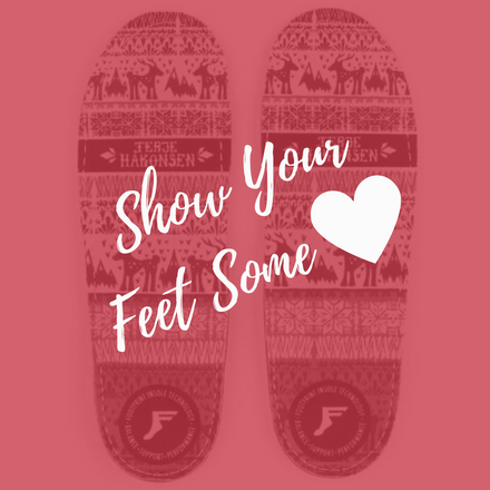 Show Your Feet Some Love with Gamechanger insoles from Footprint Insole Technology.