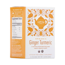 Load image into Gallery viewer, Organic Ginger Turmeric Tea