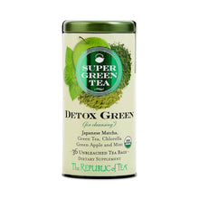 Load image into Gallery viewer, Organic Detox Green SuperGreen Tea