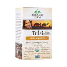 Load image into Gallery viewer, Organic India Tulsi Lemon Ginger Tea