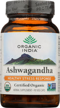 Load image into Gallery viewer, ORGANIC INDIA: Ashwagandha, 90 Veggie Caps