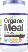 Load image into Gallery viewer, ORGAIN: Organic Meal All-in-one Nutrition Creamy Chocolate Fudge, 2.01 lb