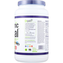 Load image into Gallery viewer, ORGAIN: Organic Meal All-in-one Nutrition Vanilla Bean, 2.01 lb