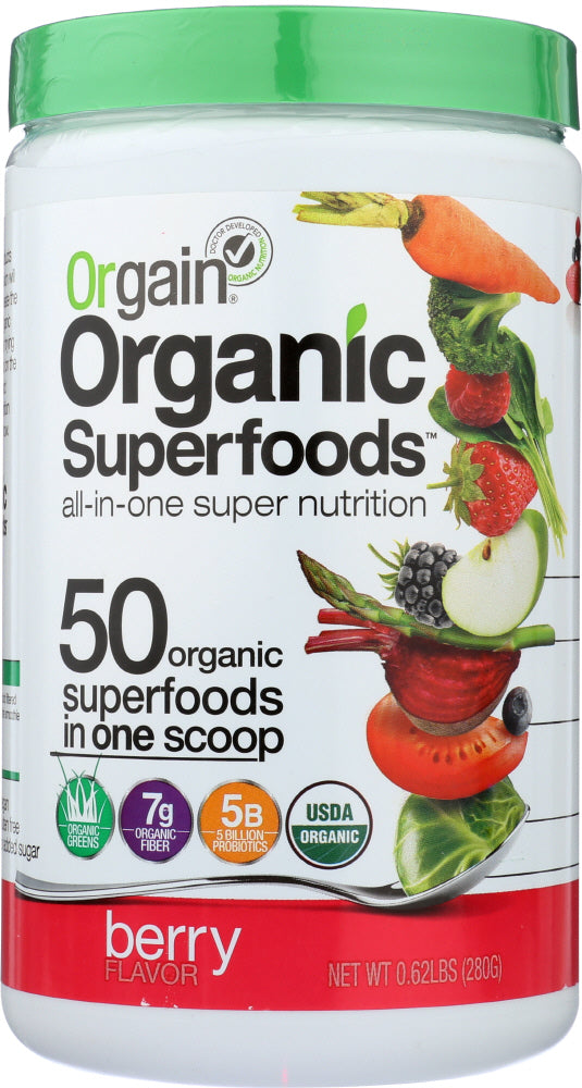 ORGAIN: Superfoods Berry Org, 9.92 oz