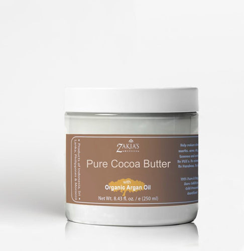 Organic Cocoa Butter with Argan Oil
