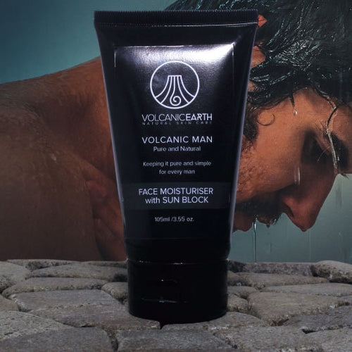 Men's Face Moisturiser with Sunblock