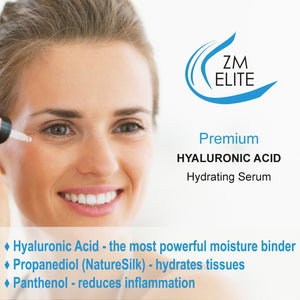 High Potency Hyaluronic Serum - 1 oz