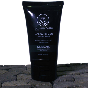 Volcanic Man Face Mask