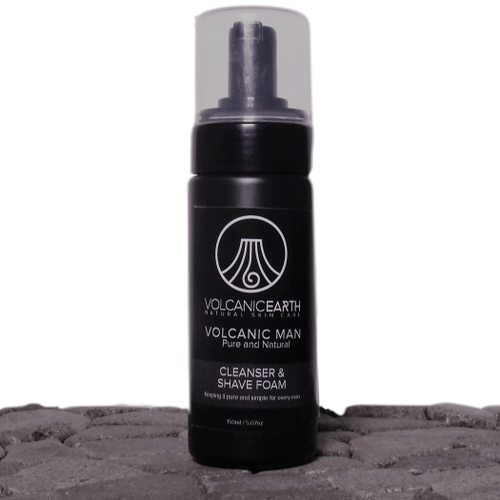 Men's Natural Cleanser And Shaving Foam