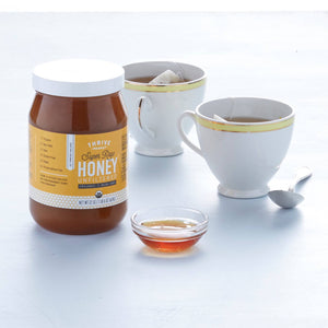 Organic Raw Unstrained Honey