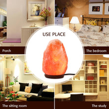 Load image into Gallery viewer, 110V Himalayan Natural Air Purifier Salt Lamp Rock Crystal Tower Dimmer Switch