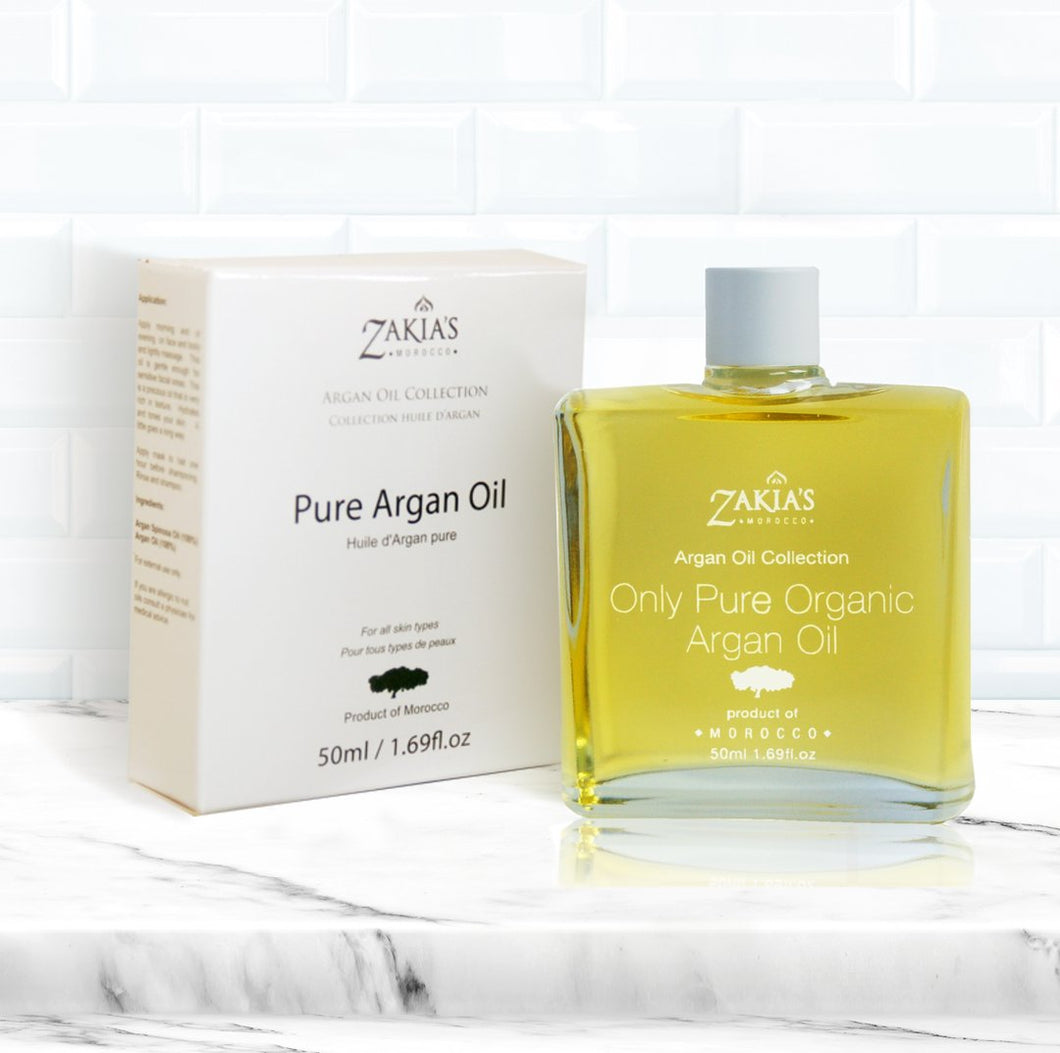 Argan Oil - 100% pure, organic and natural