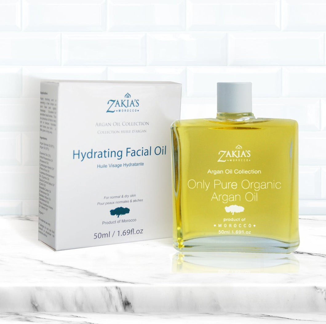 Zakia's Argan Oil Hydrating Facial Oil