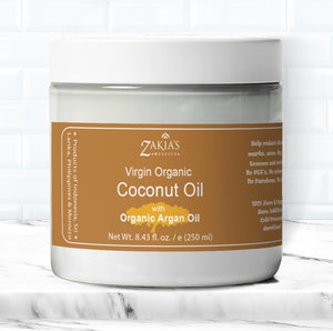Organic Coconut Oil with Argan Oil