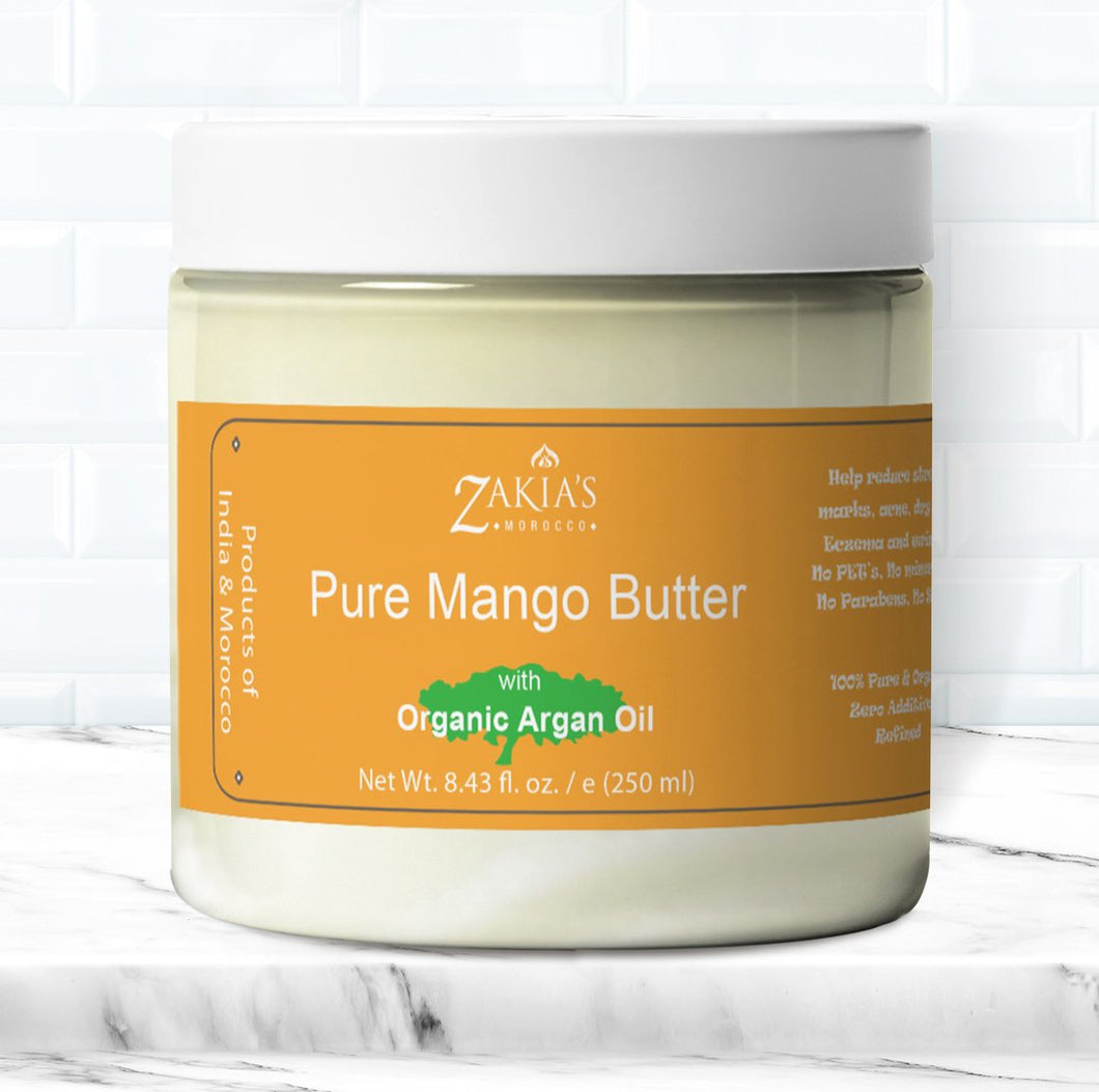100% pure, Organic Mango Butter with Argan Oil