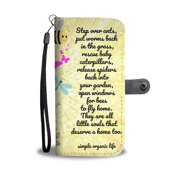 Wallet Phone Case - Little Souls