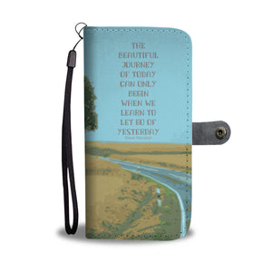 Wallet Phone Case - Beautiful Journey