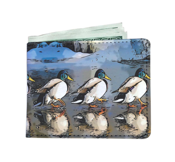 Men's Wallet - Ducks in a Row