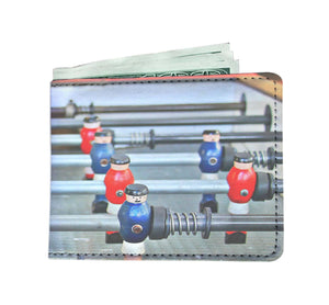 Men's Wallet - Foozeball Game