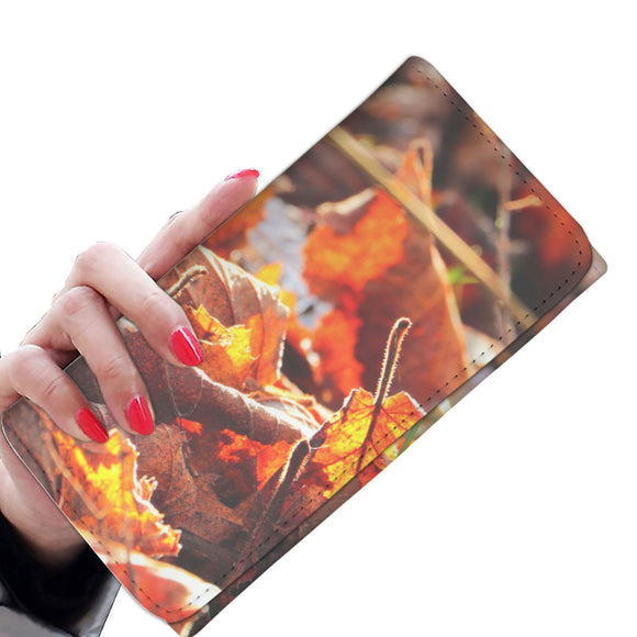 Women's Wallet - Autumn Leaves Fall