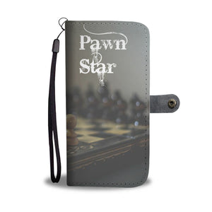 Wallet Phone Case - Pawn Star Chess