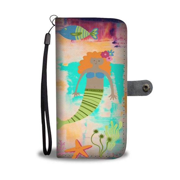 Wallet Phone Case - Mermaid