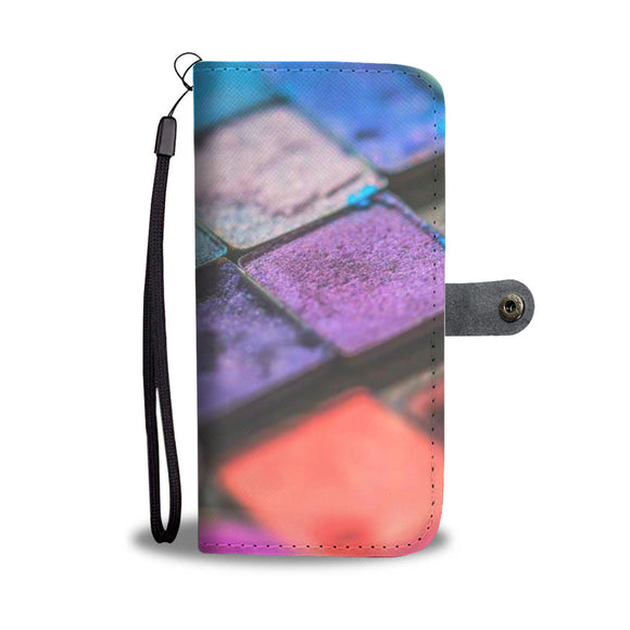 Wallet Phone Case - Makeup