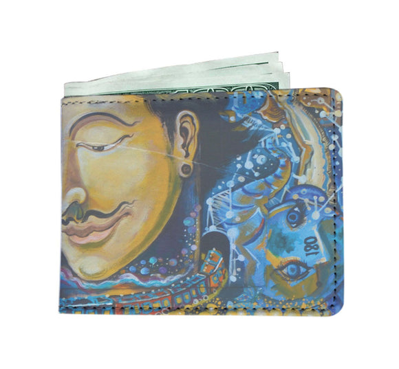 Men's Wallet - Street Art