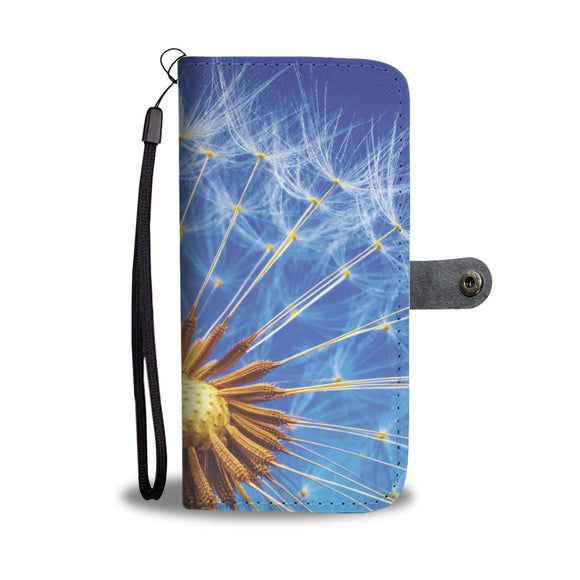 Wallet Phone Case - Dandelion