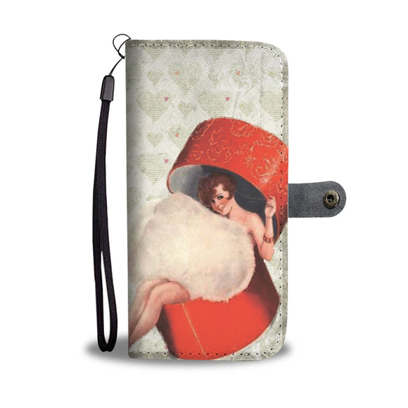 Wallet Phone Case - Powder Puff