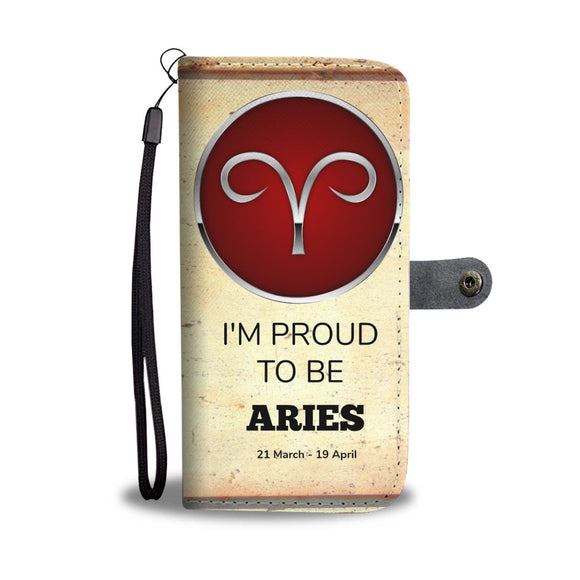 Wallet Phone Case - Aries