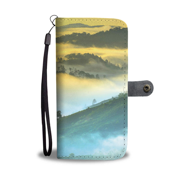 Wallet Phone Case - Fog in the Valley