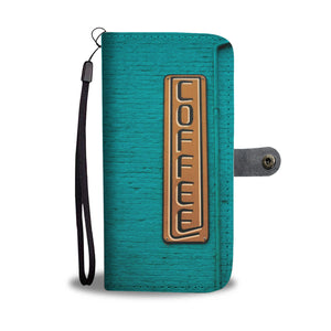 Wallet Phone Case - Coffee
