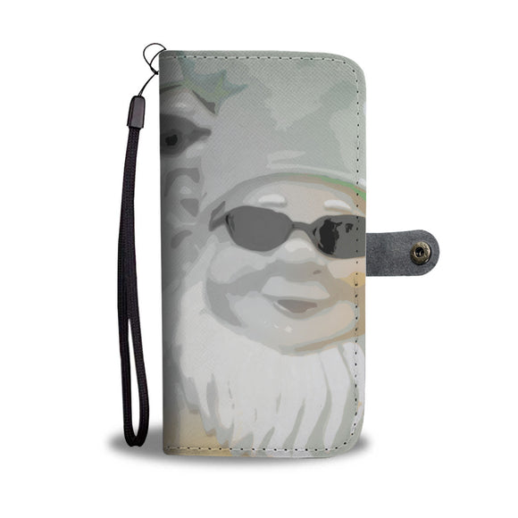 Wallet Phone Case - Cool Dude Gnomes