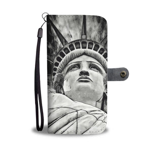 Wallet Phone Case - Lady Liberty
