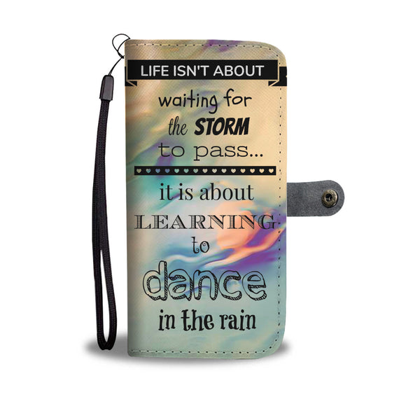 Wallet Phone Case - Learning to Dance