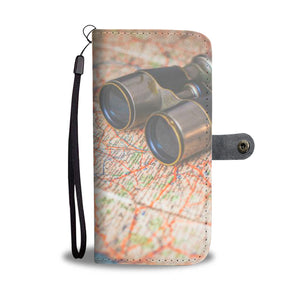 Wallet Phone Case - Travel