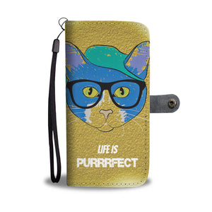 Wallet Phone Case - Purrrfect
