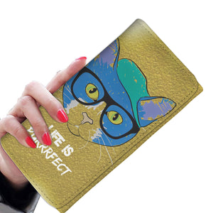 Women's Wallet - Life Is Purrrfect