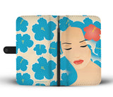 Wallet Phone Case - Island Girl