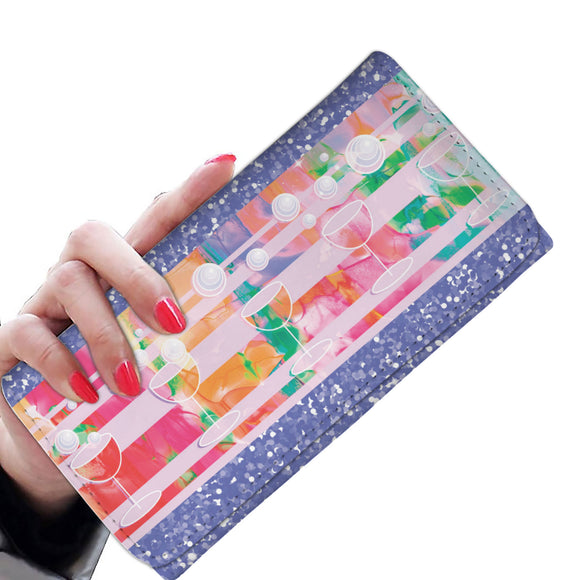 Women's Wallet - Bubbles