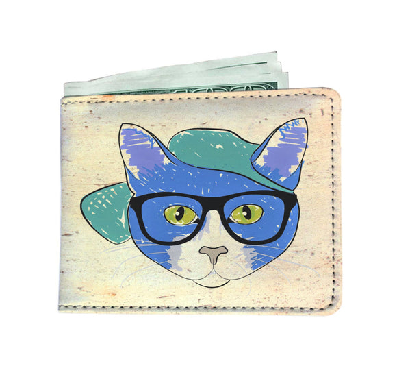 Men's Wallet - Cool Cat