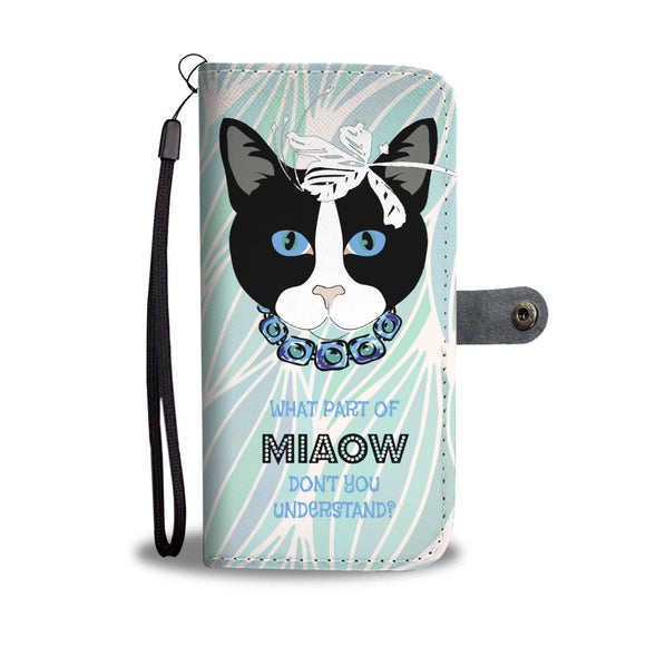 Wallet Phone Case - Miss Kitty