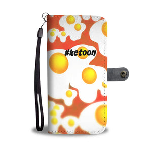 Wallet Phone Case - Keto Eggs