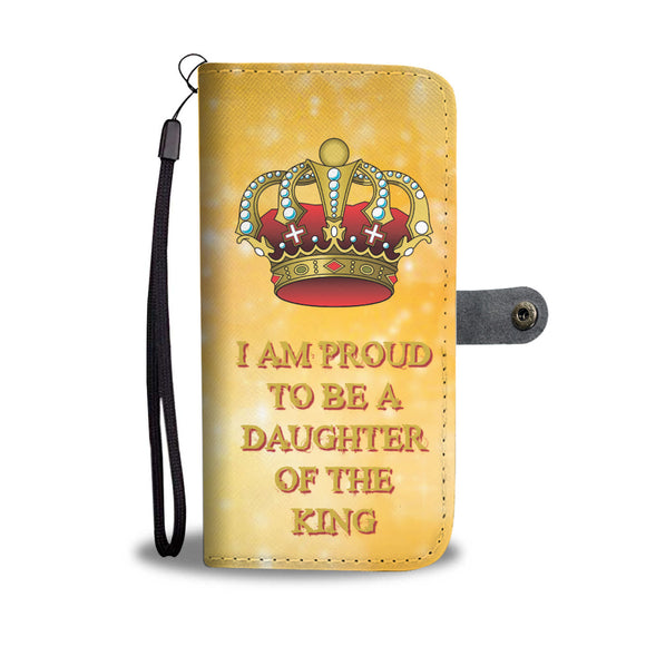 Wallet Phone Case - Daughter of the King