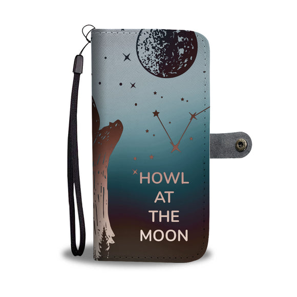 Wallet Phone Case - Howl at the Moon