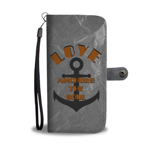 Wallet Phone Case - Anchor