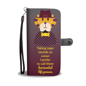 Wallet Phone Case - Terence Tiger