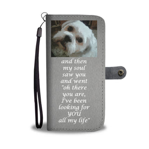 Wallet Phone Case - Puff Shih Tzu
