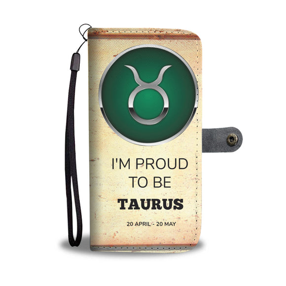 Wallet Phone Case - Taurus